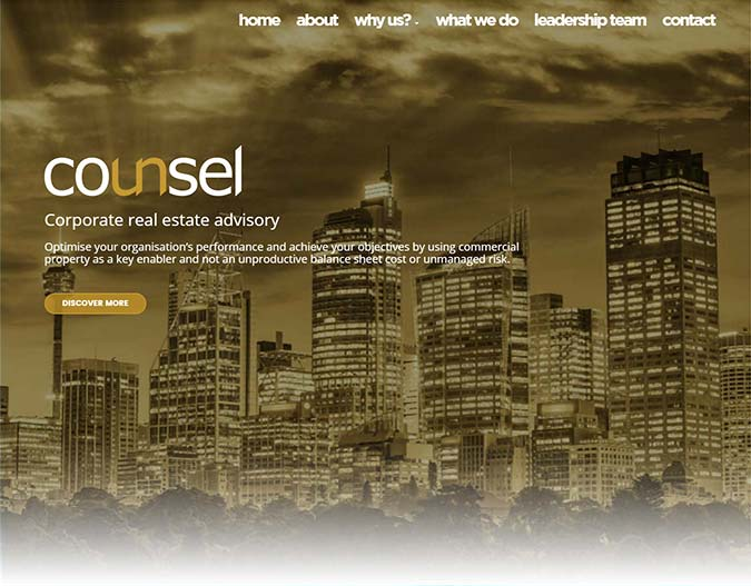 Counsel Corporate Real Estate Advisory